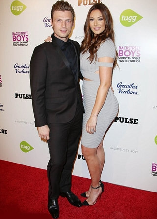Nick Carter and Wife Lauren Kitt Height Body Shape