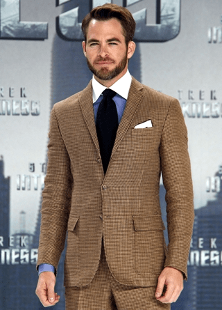 Chris Pine Body Measurements Height Weight