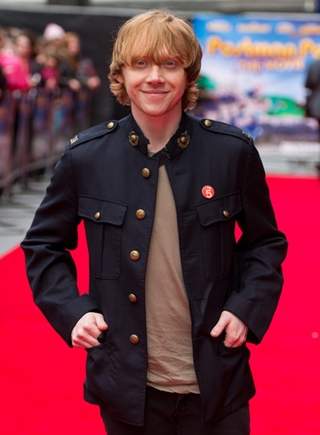 Rupert Grint Body Measurements Height Weight