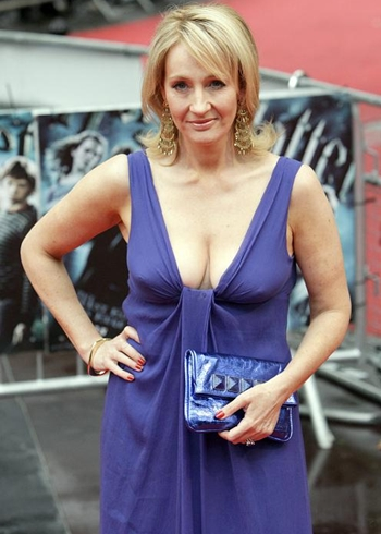 J. K. Rowling Body Measurements Bra Size