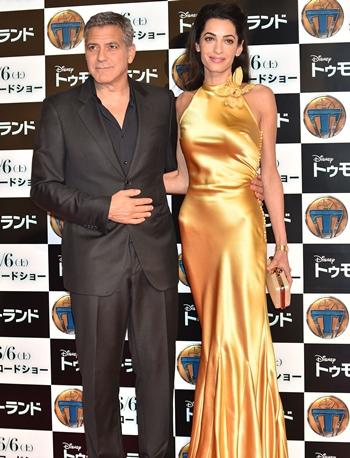 Amal Clooney body measurements-bra-size