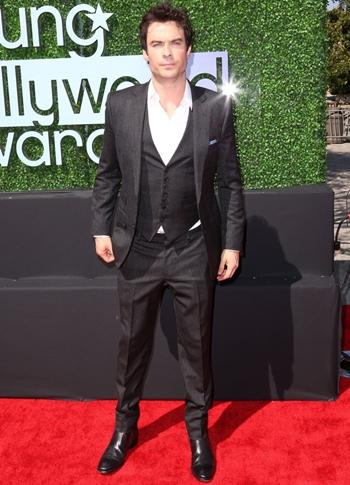 Ian Somerhalder Height Weight Body Shape