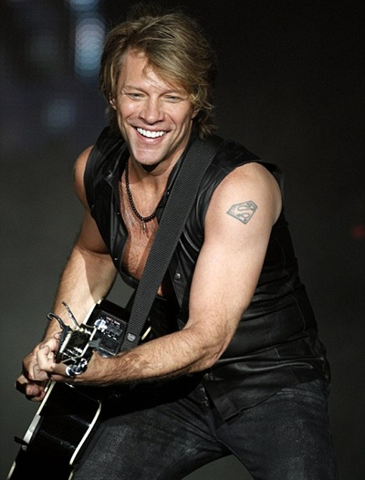 Jon Bon Jovi Body Measurements Biceps