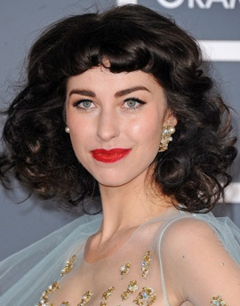 Singer Kimbra Johnson