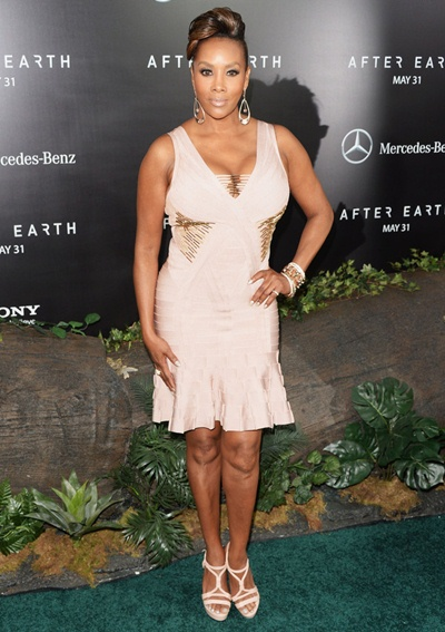Vivica A. Fox Height Weight Body Shape
