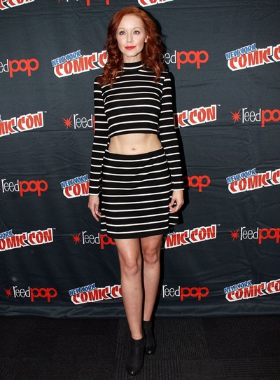 Lindy Booth Height Weight Bra Size