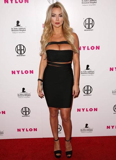Lindsey Pelas Height Weight Bra Size