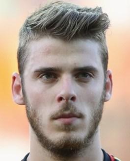 Footballer David de Gea