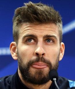 Footballer Gerard Pique
