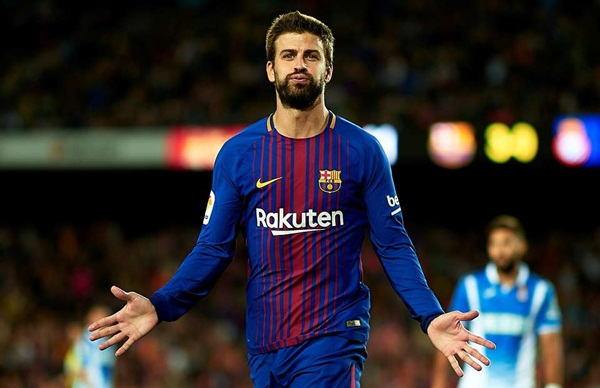 Gerard Pique Body Measurements Stats