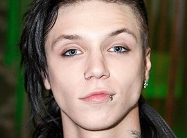 Andy Biersack Body Measurements Height Weight Age Facts Family Bio