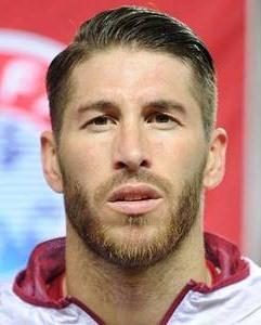 Footballer Sergio Ramos
