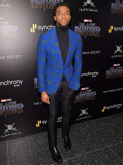 Chadwick Boseman Height Weight Shoe Size