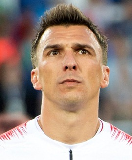 Footballer Mario Mandzukic