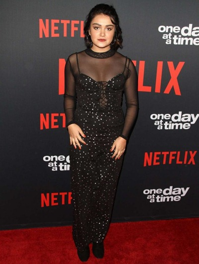 Ariela Barer Body Measurements Stats