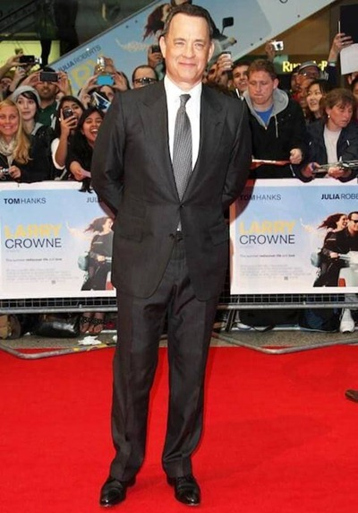 Tom Hanks Height Weight Shoe Size