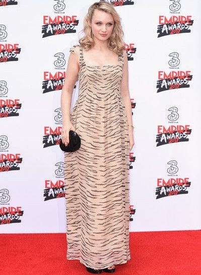 Emily Berrington Body Measurements Stats