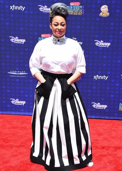 Raven-Symone Height Weight Bra Size