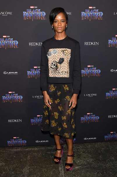 Letitia Wright Height Weight Shoe Size
