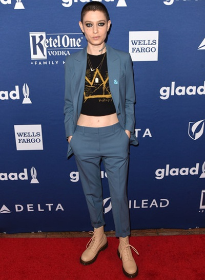 Asia Kate Dillon Height Weight Bra Size