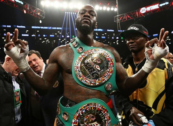 Deontay Wilder Body Measurements Stats