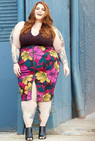 Tess Holliday Body Measurements Stats