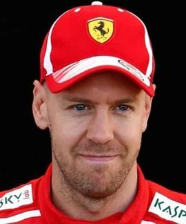 Racing Driver Sebastian Vettel