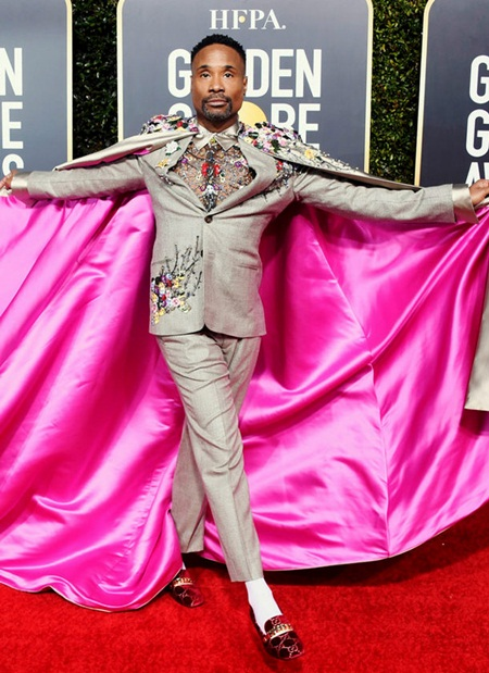 Billy Porter Body Measurements Facts