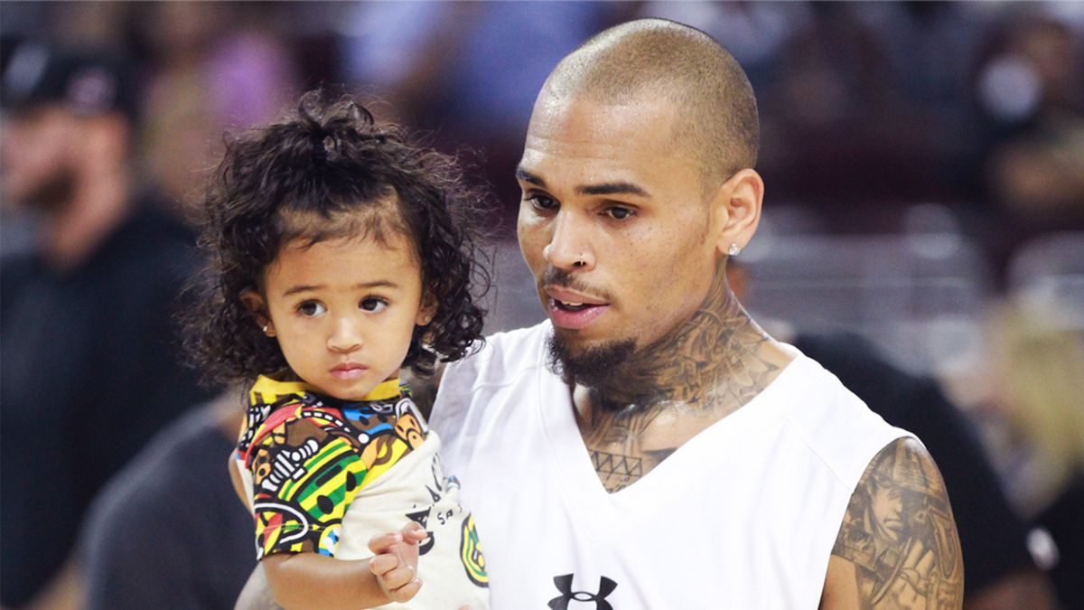 Chris Browns Daughter Royalty Has Her Dads Talent