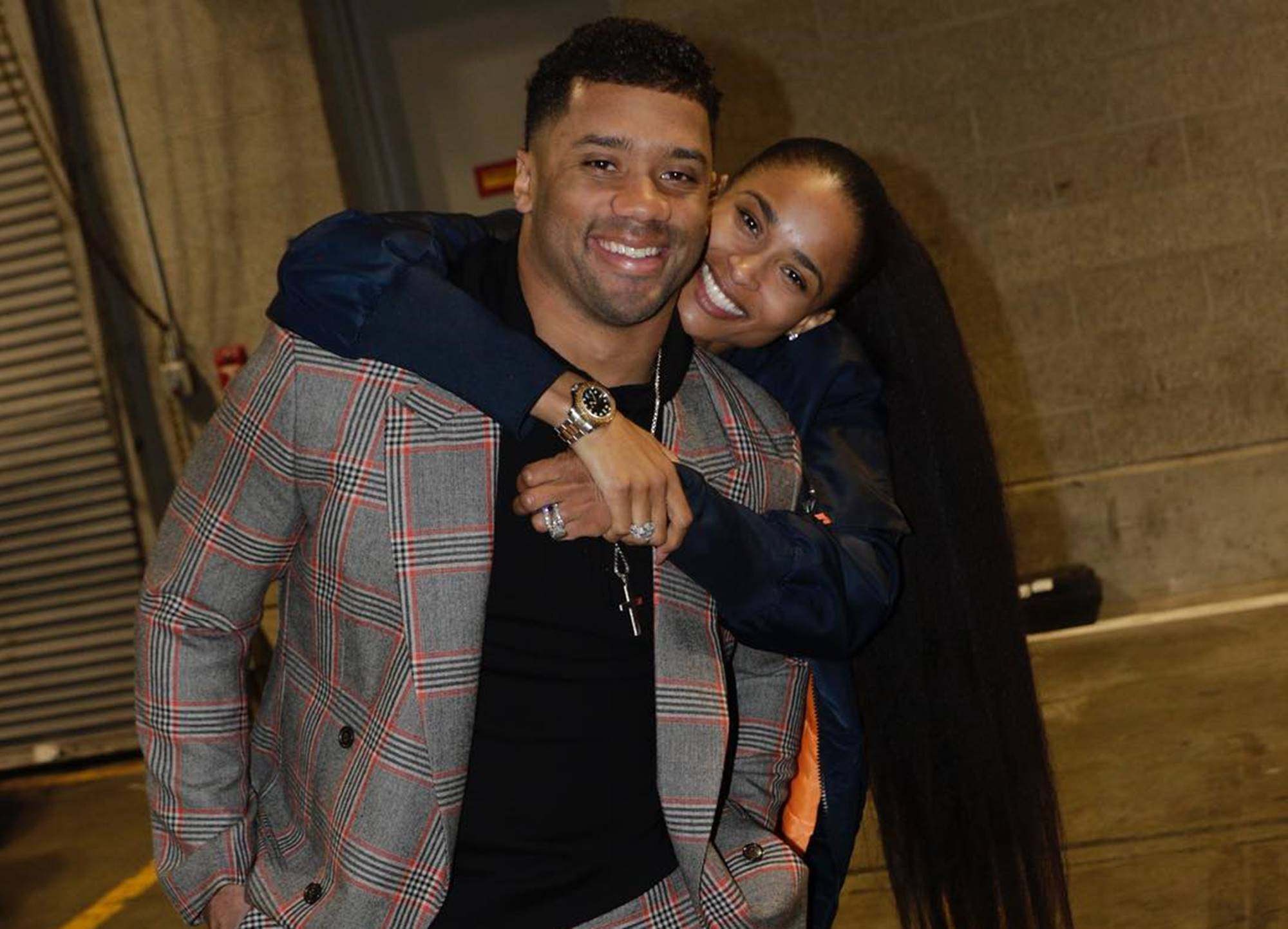 Proud Wife Ciara Focuses On Her Man Russell Wilson As