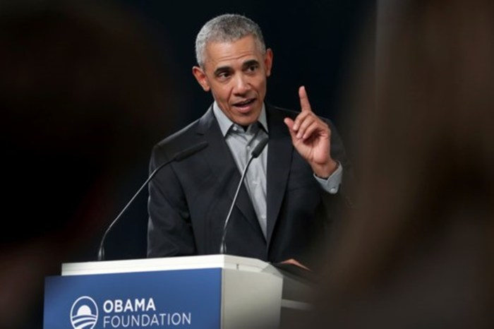 Obama Claims Democrats Are Targeting Party Members Who Don't Agree With Left Views