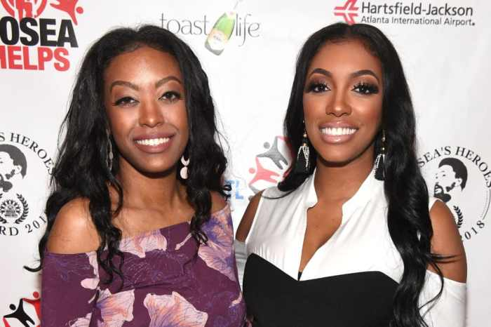 Porsha Williams Has Her Sister, Lauren Williams Modelling The Jeans From Her Clothing Line - See The Pic With Lauren And Her Daughter, Baleigh