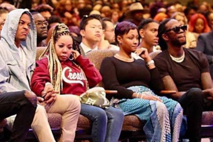 T.I. Finally Explains Why He Looked Angry And Disgusted In This Photo With Tiny Harris Sitting By Him While In Church