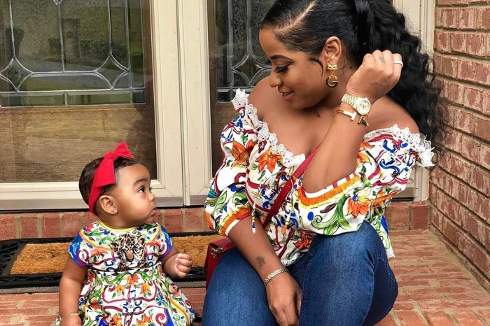 Toya Wright Is Twinning With Baby Reign Rushing In The Latest Pics And Fans Cannot Have Enough Of Them