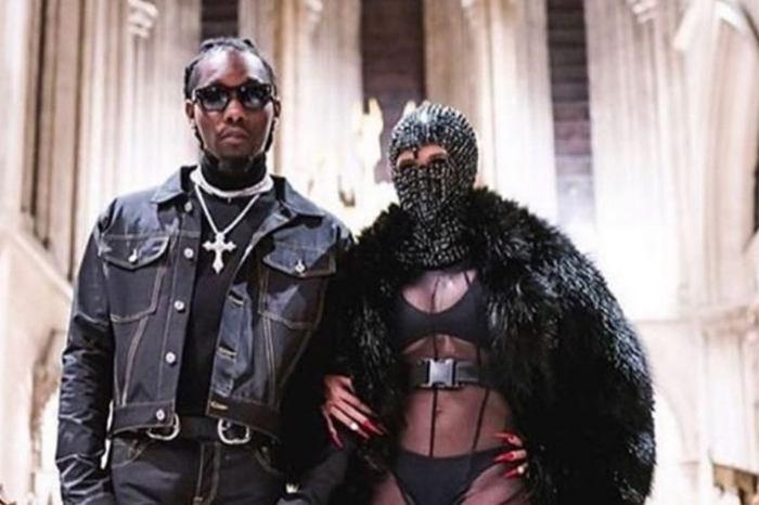 Offset Debuts His New Menswear Collab At Paris Fashion Week