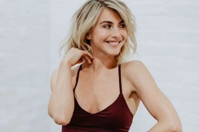 Julianne Hough Receives Bizarre Treatment In A Video That Must Be Seen To Be Believed