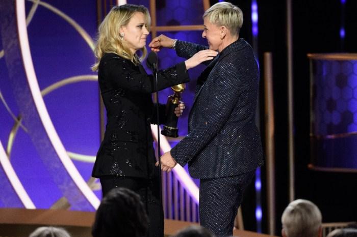 Kate McKinnon Tearfully Presents Ellen DeGeneres With The Golden Globes Carol Burnett Award — Watch The Emotional Videos
