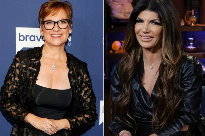 RHONJ - Teresa Giudice & Caroline Manzo Reunite For Sabra Hummus Super Bowl Commercial
