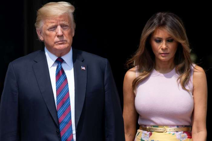 Melania And Donald Trump Involved In Yet Another 'Hand-Gate' - Check Out The Awkward Video!
