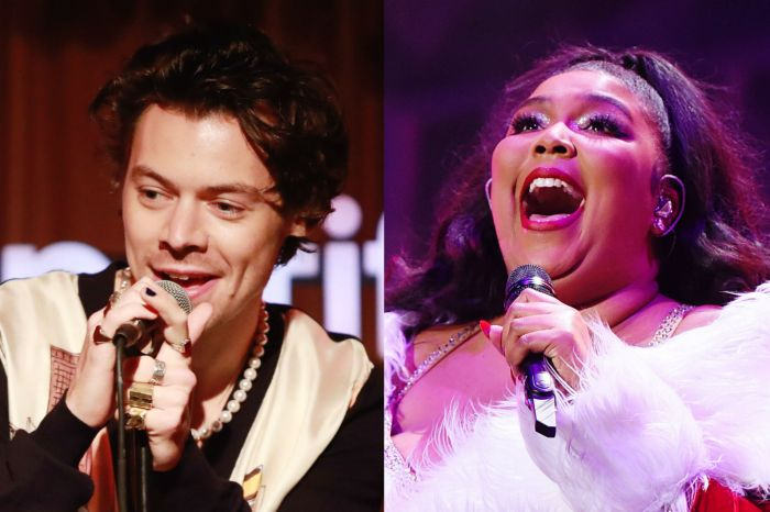 Harry Styles Shows Up To Lizzo's Concert To Perform 'Juice' Together - Check It Out!