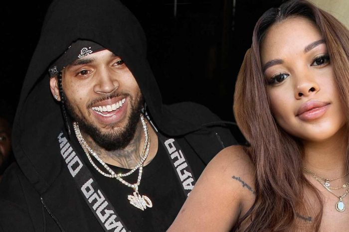 Chris Brown Gushes Over Ammika Harris And Their Son, Aeko And Fans Insist He Marries Her