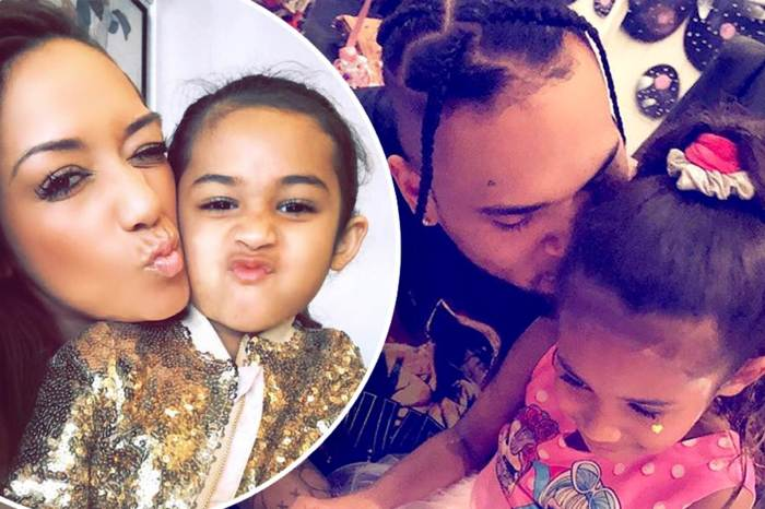 Chris Brown And Nia Guzman Support Their Daughter, Royalty Brown At Her Soccer Match - See The Video
