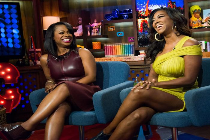 RHOA: Kandi Burruss And Kenya Moore Call Out Porsha Williams For Making Up With Nene Leakes After Talking Nasty Behind Her Back