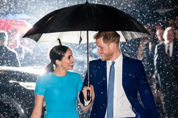 Meghan Markle And Prince Harry Look Like They Are In A Movie Scene In Photos Where They Are Under A Rain Storm