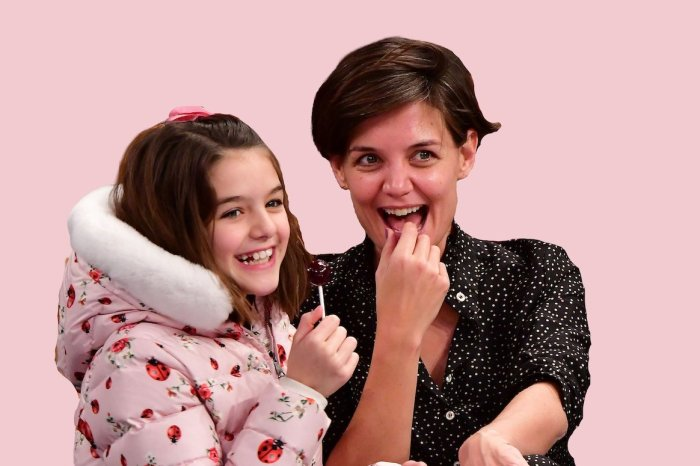 Katie Holmes Opens Up About Raising Daughter Suri With Tom Cruise Away From The Public Eye And Giving Her A Normal Life!