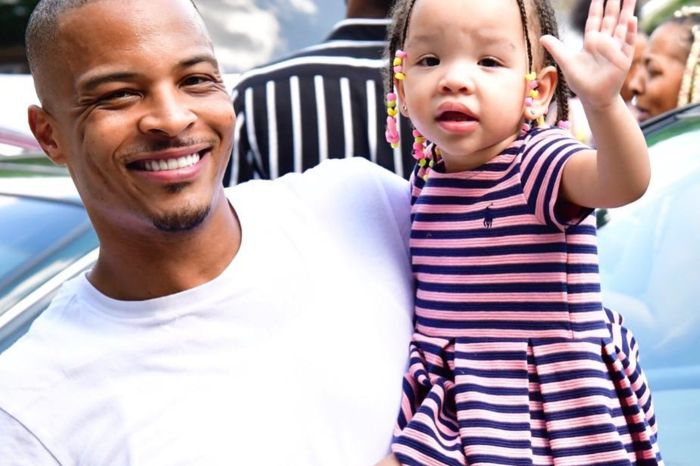 T.I. Celebrates The Birthday Of His Baby Girl, Heiress - See The Emotional Video He Shared