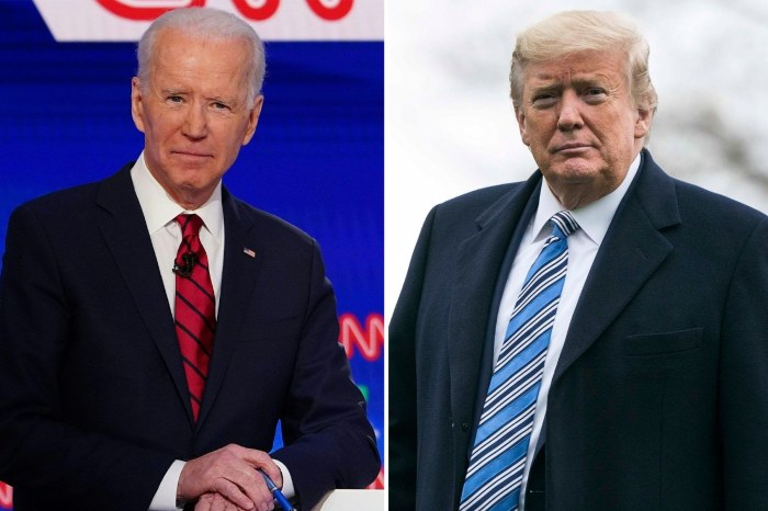 Donald Trump All Of A Sudden Wants To Talk To Joe Biden For This Reason