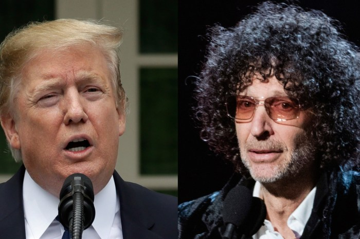 Howard Stern Slams Donald Trump's Supporters - The President 'Despises You!'