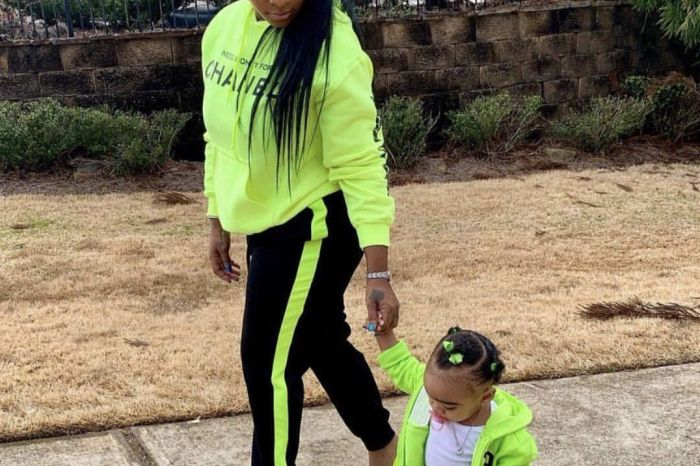 Toya Johnson Gushes Over Her Her Baby Girl, Reign Rushing - Check Out Her Photo