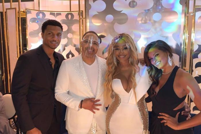 Cynthia Bailey Drops New Mesmerizing Pics From Her And Mike Hill's Wedding - See Her Jaw-Dropping Dress!